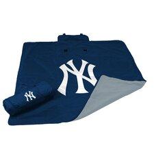 MLB NY Yankees All Weather Fleece Blanket