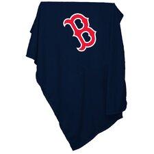 MLB Boston Red Sox Sweatshirt Polyester Blanket