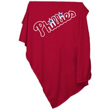 MLB Philadelphia Phillies Sweatshirt Polyester Blanket