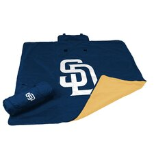 MLB San Diego Padres All Weather Fleece Blanket