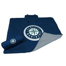 MLB Seattle Mariners All Weather Fleece Blanket