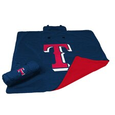 MLB Texas Rangers All Weather Fleece Blanket