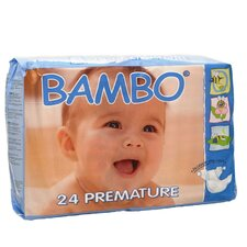 <strong>Abena International</strong> Bambo Premium Eco Friendly Baby Diapers Premature Size 0