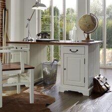 Schreibtisch Siena mit 2 Holztüren und 2 Schubladen
