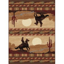 Nature Lodge Novelty Rug