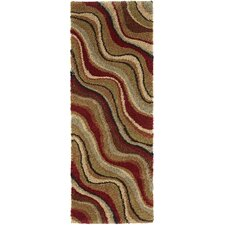 <strong>Tayse Rugs</strong> Fashion Shag Abstract Rug