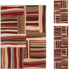 Laguna Abstract Rug  3 Piece Set