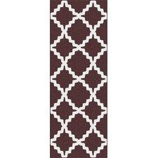 Metro Brown Moroccan Tile Rug