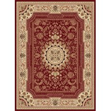 <strong>Tayse Rugs</strong> Sensation Red/Ivory Rug