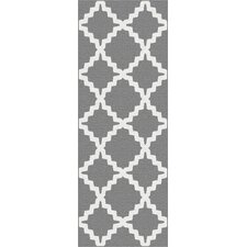 Metro Gray Marrakesh Trellis Rug
