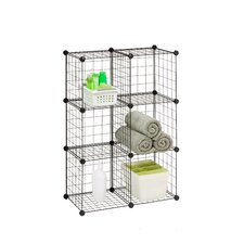 Modular Mesh Storage Cube (Pack of 6)