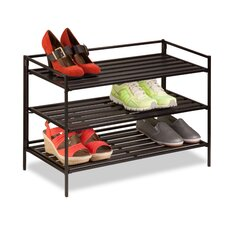 3-Tier Shoe and Accessory Rack