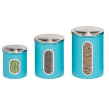 3 Piece Storage Canister Set