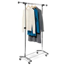 <strong>Honey Can Do</strong> Garment Rack in Chrome