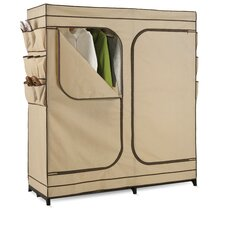 <strong>Honey Can Do</strong> Double Door Storage Closet in Light Brown