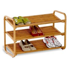 <strong>Honey Can Do</strong> 3 Tier Deluxe Shoe Shelf