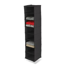 Eight Shelf Hanging Organizer in Black