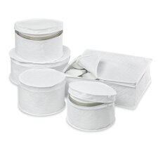 <strong>Honey Can Do</strong> Dinnerware Storage Pieces (Set of 5)