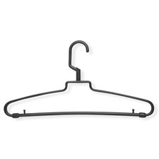 72 Pack Hotel Style Hanger in Brown