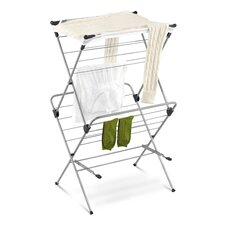 <strong>Honey Can Do</strong> Two Tier Mesh Top Drying Rack in Navy Blue