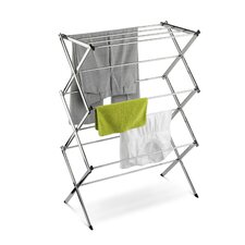 <strong>Honey Can Do</strong> Commercial Chrome Accordion Drying Rack