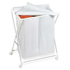 Double Folding Hamper
