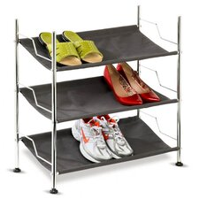 3 Tier Canvas Shoe Rack