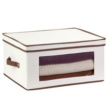 Canvas Large Window Storage Chest