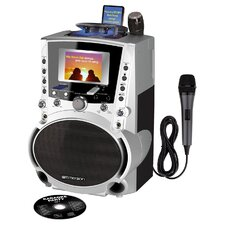 Portable CDG / MP3G Karaoke System