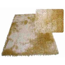 Super Shag Gold Rug