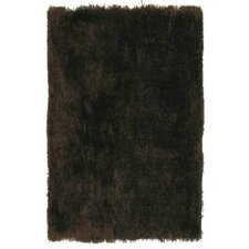 Super Shag Brown Rug