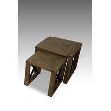 <strong>Solway Furniture</strong> New England 2 Piece Nest of Tables