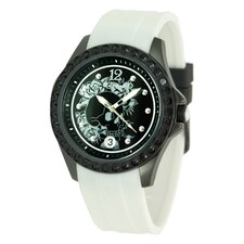 Women's Techno Watch in White