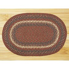 <strong>Earth Rugs</strong> Burgundy/Gray Multi Rug
