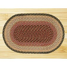 <strong>Earth Rugs</strong> Burgundy/Crème Rug