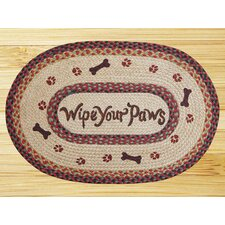 Wipe Your Paws Novelty Rug