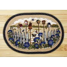 <strong>Earth Rugs</strong> Birdhouse Garden Novelty Rug