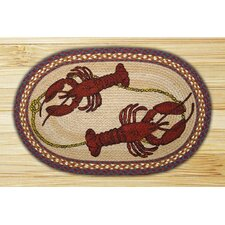 Lobster Novelty Rug