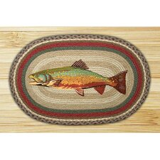 Trout Novelty Rug
