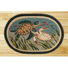 Turtle Novelty Rug