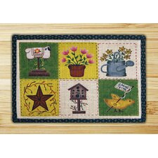 Spring Patch Novelty Rug