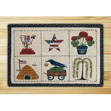 Summer Patch Novelty Rug