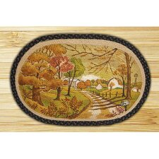 Autumn Landscape Novelty Rug