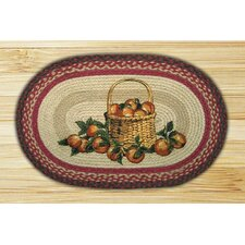 Apple Basket Novelty Rug