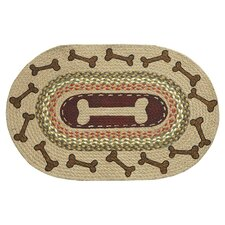 Dog Bone Novelty Rug