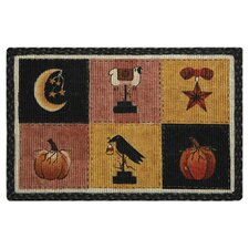 <strong>Earth Rugs</strong> Autumn Patch Novelty Rug
