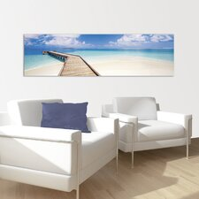 "Wandbild ""Tropical Sea"" - 50 x 180 cm"