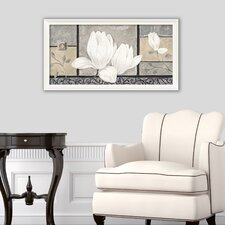 "Wandbild ""Baroque Magnolia"" von Claudia Ancilotti - 56 x 106 cm"