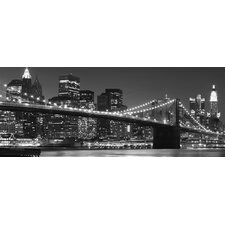 "Glasbild ""New York Skyline"""