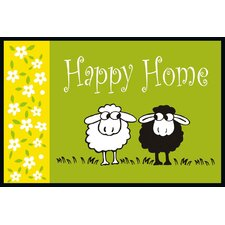 "Fußmatte ""Happy Sheep"""